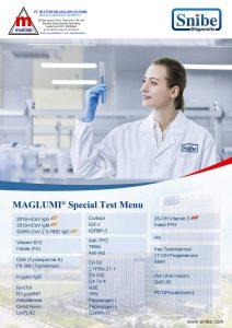 Maglumi Special Test Menu - Snibe